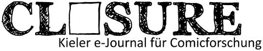 """Logo von """"CLOSURE, Kieler e-Journal für Comicforschung"""""""